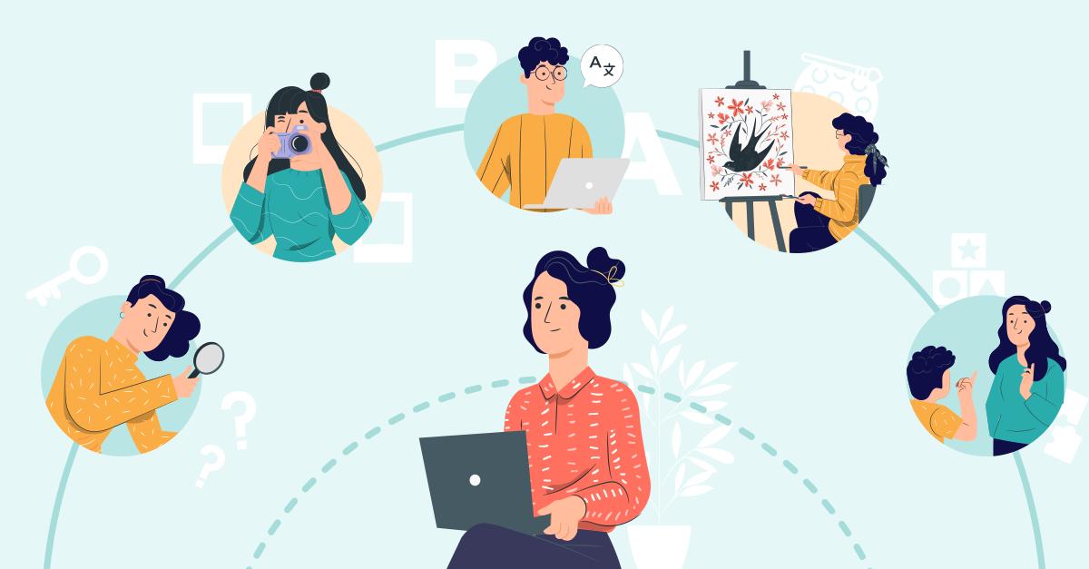 Специалист по онлайн услуги и 5 опции, които могат да се проведат чрез видео разговор